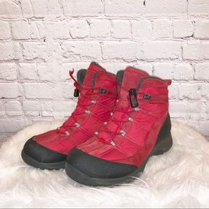 Lands' End Red Extreme Squall Boots